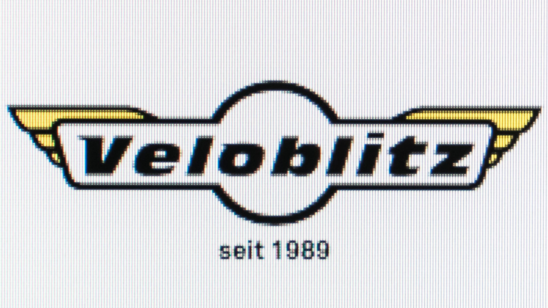 Photo of the website of Velo Blitz